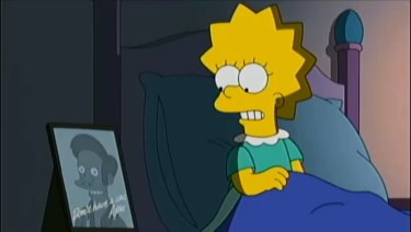 Lisa Simpson addresses Apu controversy on The Simpsons.