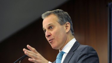 Resigned: Eric Schneiderman, attorney general of New York.