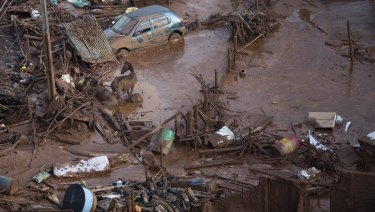 The dam collapse killed 19 people and is considered to be Brazil's worst environmental disaster.