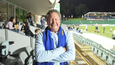 Andrew Forrest bankrolled the World Series Rugby competition.