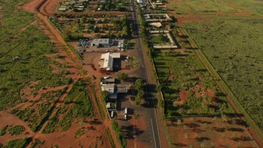 The remote NT town of Tennant Creek.