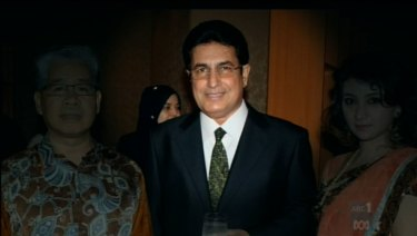 Malaysian businessman Abdul Kayum Syed Ahmad.