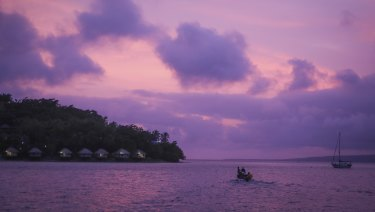 Port Vila in Vanuatu, where China reportedly wants to build a military base.