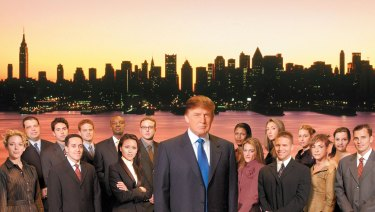 Donald Trump was the face of The Apprentice, which moved to Los Angeles in a bid to increase its viewer-base.