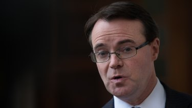 'Follow the money': Victoria's Shadow Treasurer Michael O'Brien.