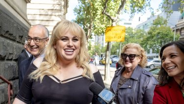 Rebel Wilson filed her case in the Victorian Supreme Court before a four-person jury.