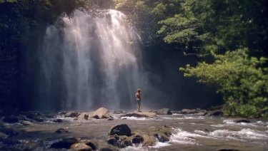 Ellinjaa Falls in north Queensland features in the fresh campaign.