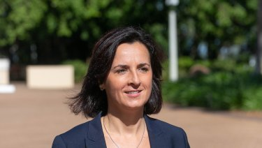 Rural Bank managing director Alexandra Gartmann appeared at the royal commission.