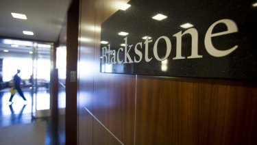 Blackstone was one of the groups courted.