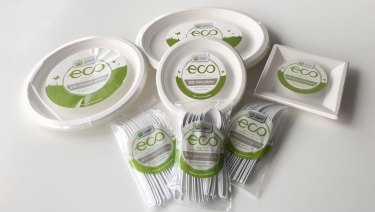 Items from Woolworths' W Select eco range, which the ACCC alleges carried false, misleading or deceptive representations.