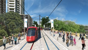 Stage 1 of the Parramatta light rail  project has been given planning approval.
