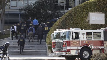 A woman opened fire at YouTube headquarters, wounding some people before fatally shooting herself as terrified employees huddled inside.