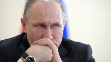 Russian President Vladimir Putin is an ex-KGB agent.