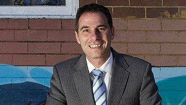 Jihad Dib when he was principal of Punchbowl Boys' High.