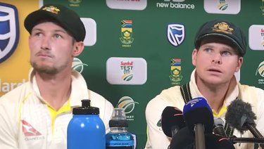 Australia opener Cameron Bancroft and captain Steve Smith admit to Ball tampering.