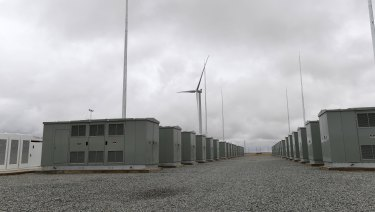 Two large-scale batteries will be built in Kerang and Ballarat this year.