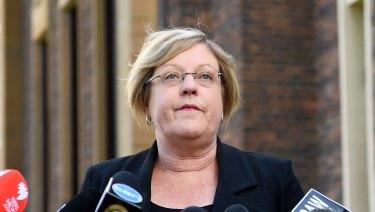 Police Minister Lisa Neville says women do not feel safe.