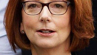 Former PM Julia Gillard.