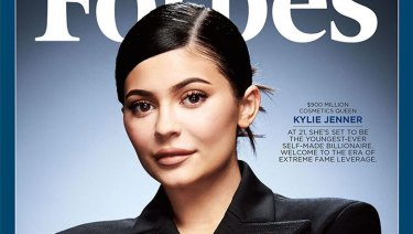 Kylie Jenner's Forbes cover.