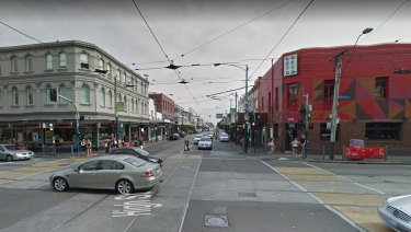 High and Chapel streets in Prahran, the scene of a brawl early Thursday morning.