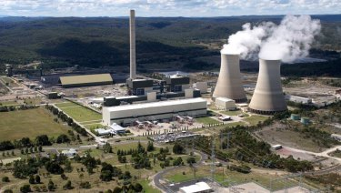 The Mt Piper power station, near Lithgow.