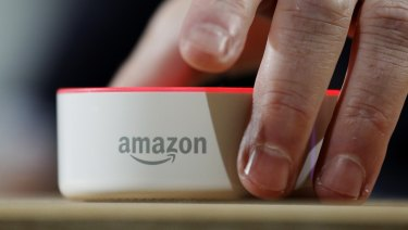The Echo device, and Alexa software platform, which launched in Australia in January, allows consumers to order products from Amazon using their voices.