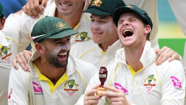 The English suspected ball tampering during the Ashes, but found no evidence