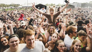 Pill testing was trialled recently at a music festival in Canberra.