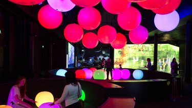 The Powerhouse Museum's Future Park exhibition is neighbour to a new UTS classroom.