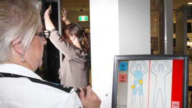 Full body scanners are currently used at international screening points.