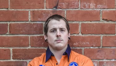 Alex Capper who has been employed as a labour hire worker.