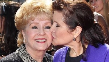 """Debbie Reynolds' son released a statement to Variety saying, """"she's with Carrie."""""""