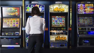 Jennifer* has a serious gambling addiction (file photo).