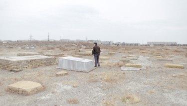 A Jewish cemetery in Bukhara, Uzbekistan.
