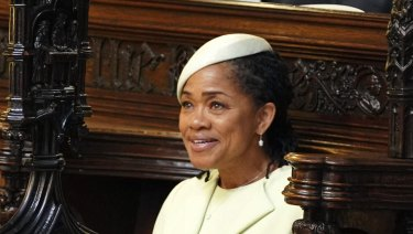 Doria Ragland during the ceremony.