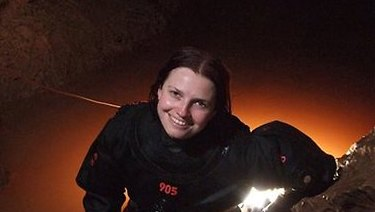 Agnes Milowka died in a cave in South Australia in 2011 - Dr Richard Harris, a friend, helped retrieve her body.