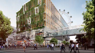 AsheMorgan's new timber office building planned for Docklands.