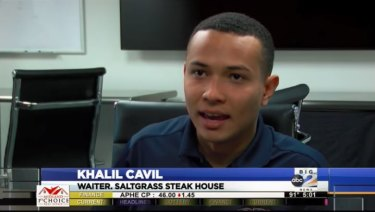 Khalil Cavil later admitted that he had made the story up.