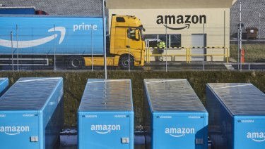 Amazon shares sunk overnight.