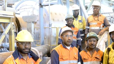 The Papua New Guinea resource industry is responsible for more than 20,000 jobs.