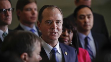 Democrat Adam Schiff is pushing for the release of a 10-page rebuttal of the so-called 'Nunes' memo.