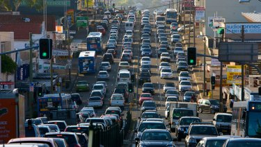 NSW will receive federal funding to ease congestion on some of Sydney's most choked streets.