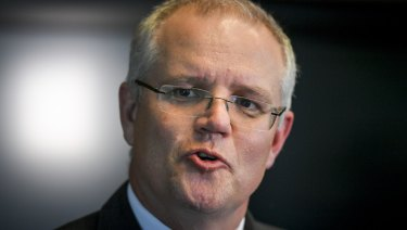 Treasurer Scott Morrison