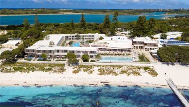The expanded Rottnest Hotel will feature 80 additional rooms, pools and a new dining area.