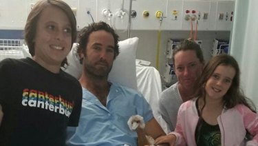 Alejandro Travaglini was attacked by a shark near Gracetown.