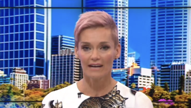Rowe announced her departure live on air.