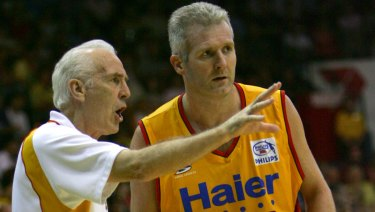 The mentor: Lindsay Gaze welcomed Brett Brown to Australia and helped shape his philosophy.