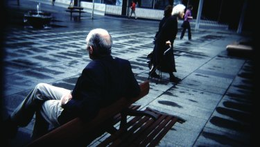 Immigrants who speak poor English are more likely to be older.
