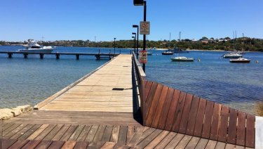 Bicton Baths, near Fremantle, is a popular spot for families and water sport enthusiasts.