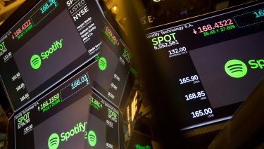 Spotify shares performed strongly on their Wall Street debut.